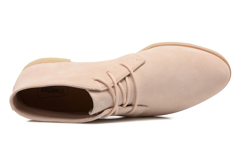 Chaussures à lacets Clarks Originals Phenia Desert Rose vue gauche