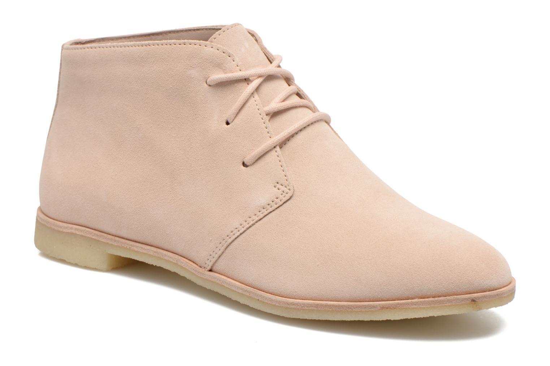 Chaussures à lacets Clarks Originals Phenia Desert Rose vue détail/paire