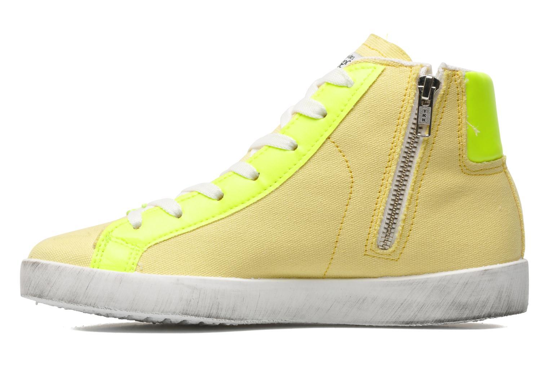 Sneaker Le temps des cerises Galaxie gelb ansicht von vorne