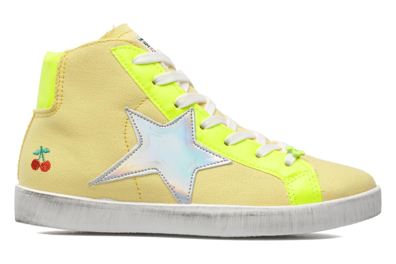 Sneaker Le temps des cerises Galaxie gelb ansicht von hinten