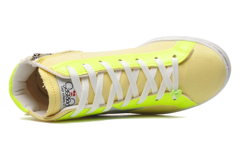 Sneaker Le temps des cerises Galaxie gelb ansicht von links