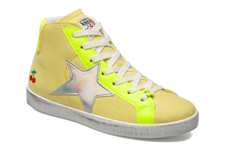Sneaker Le temps des cerises Galaxie gelb detaillierte ansicht/modell