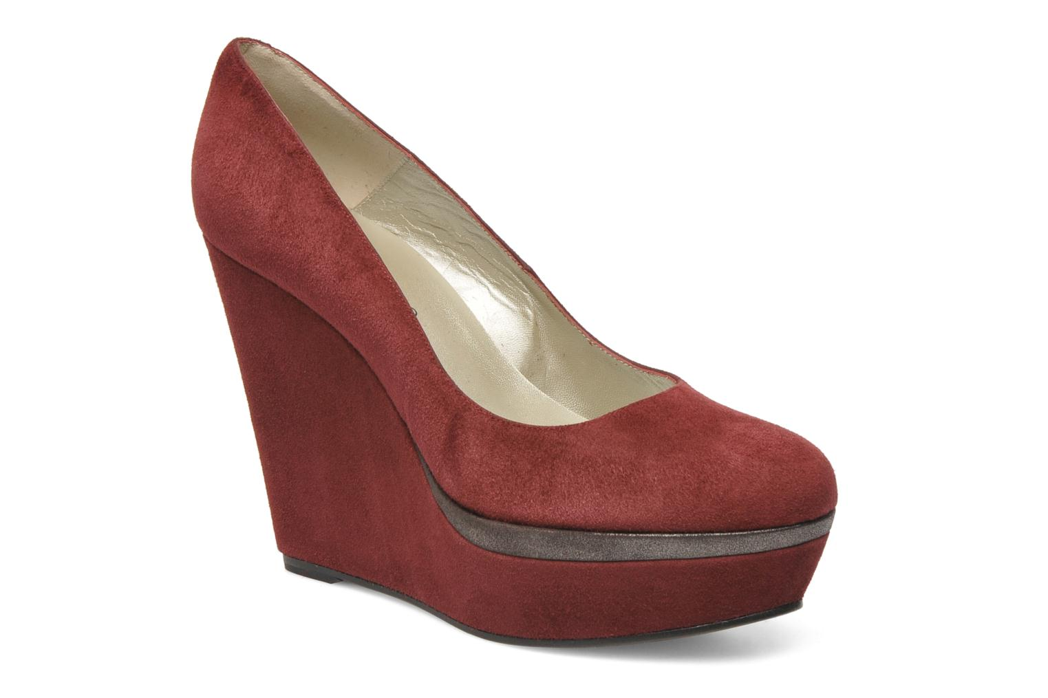 Pumps Georgia Rose Valse Bordeaux detail