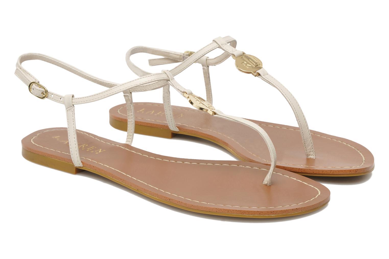 Sandales et nu-pieds Lauren by Ralph Lauren Aimon 2 Beige vue 3/4