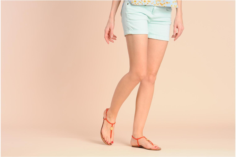 Sandales et nu-pieds Lauren by Ralph Lauren Aimon 2 Beige vue bas / vue portée sac