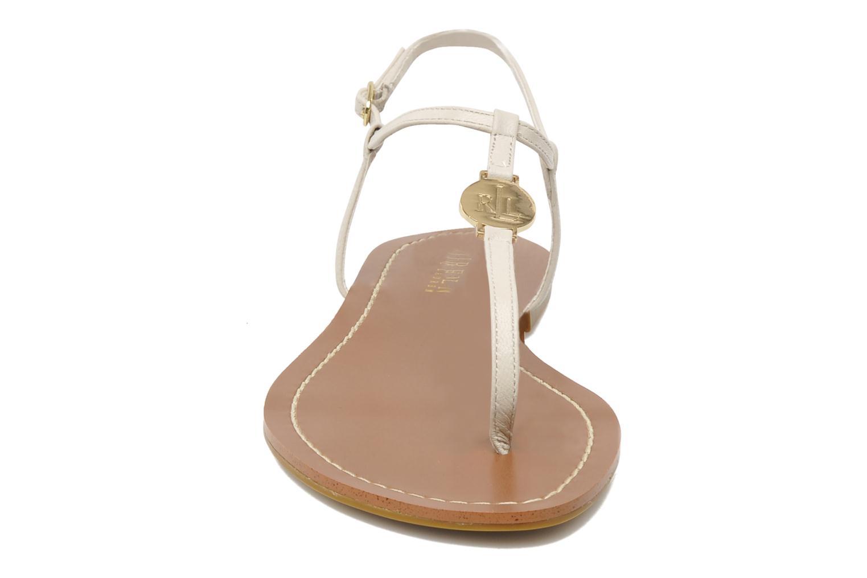 Sandales et nu-pieds Lauren by Ralph Lauren Aimon 2 Beige vue portées chaussures