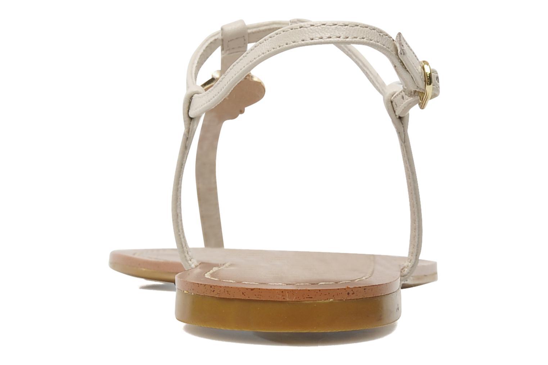 Sandales et nu-pieds Lauren by Ralph Lauren Aimon 2 Beige vue droite