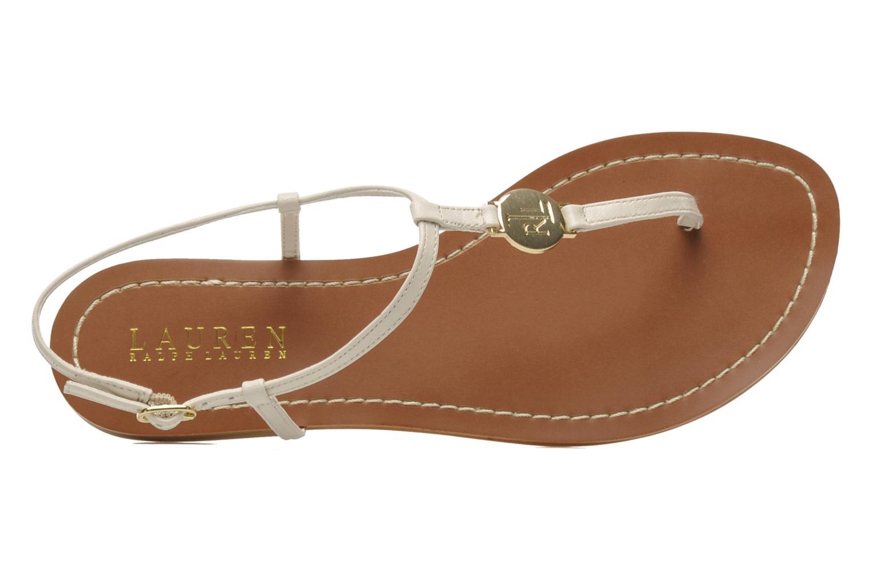 Sandales et nu-pieds Lauren by Ralph Lauren Aimon 2 Beige vue gauche
