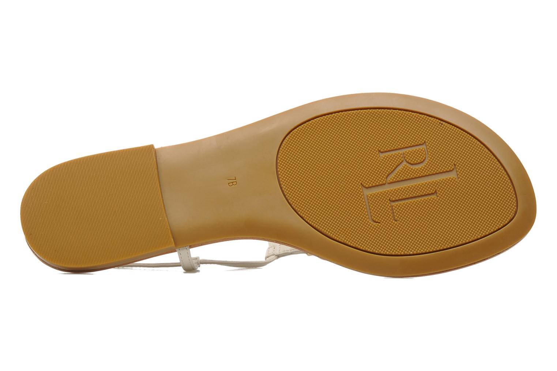 Sandales et nu-pieds Lauren by Ralph Lauren Aimon 2 Beige vue haut