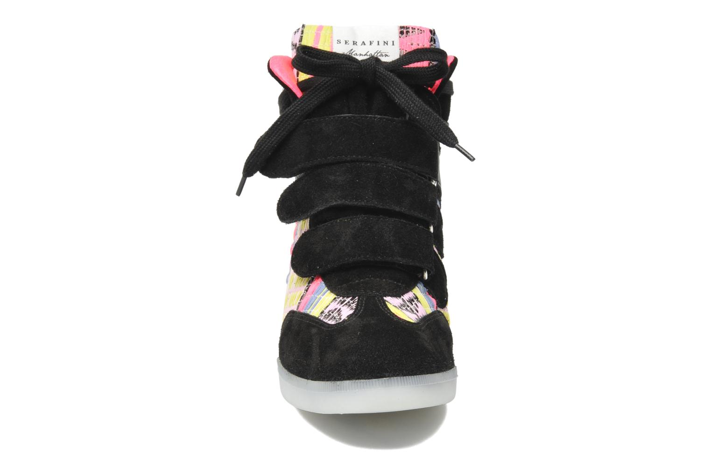 Baskets Serafini Manhattan Chic Sneaks Noir vue portées chaussures