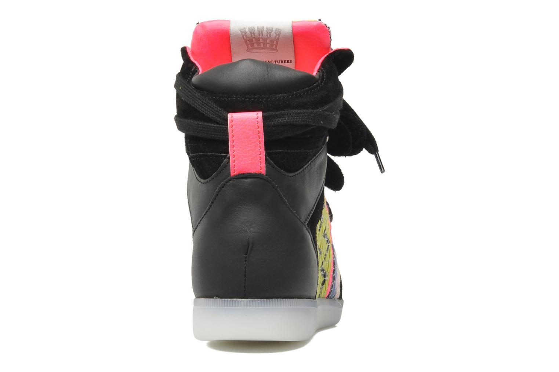 Baskets Serafini Manhattan Chic Sneaks Noir vue droite