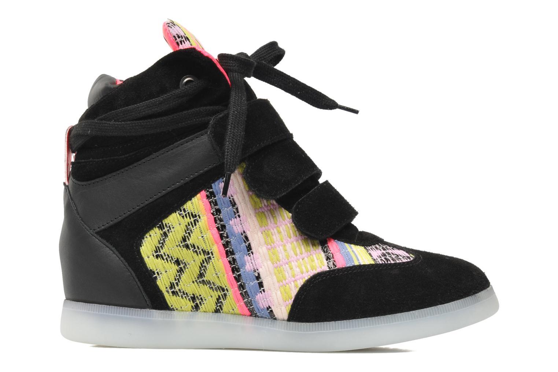 Baskets Serafini Manhattan Chic Sneaks Noir vue derrière