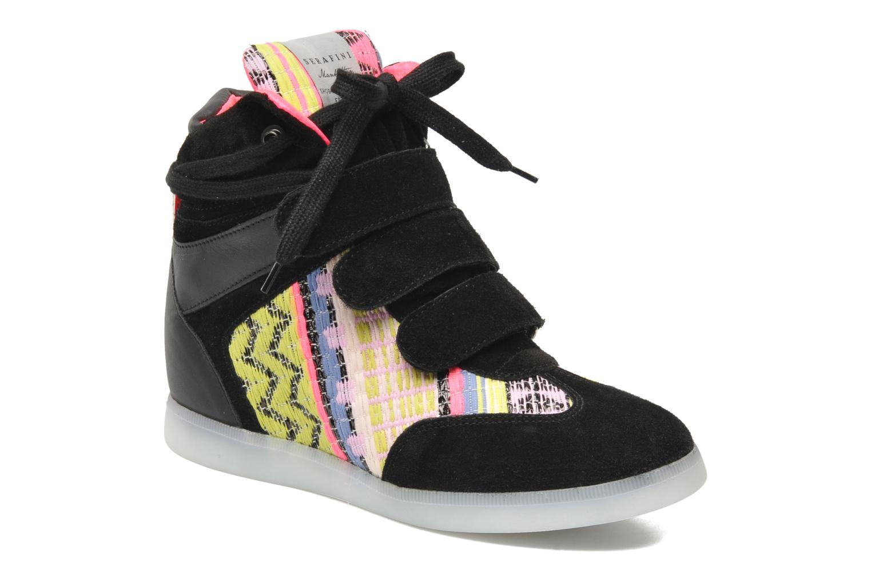 Baskets Serafini Manhattan Chic Sneaks Noir vue détail/paire