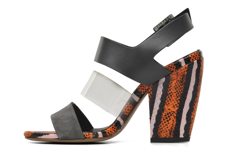 Sandales et nu-pieds Serafini Nora Multicolore vue face