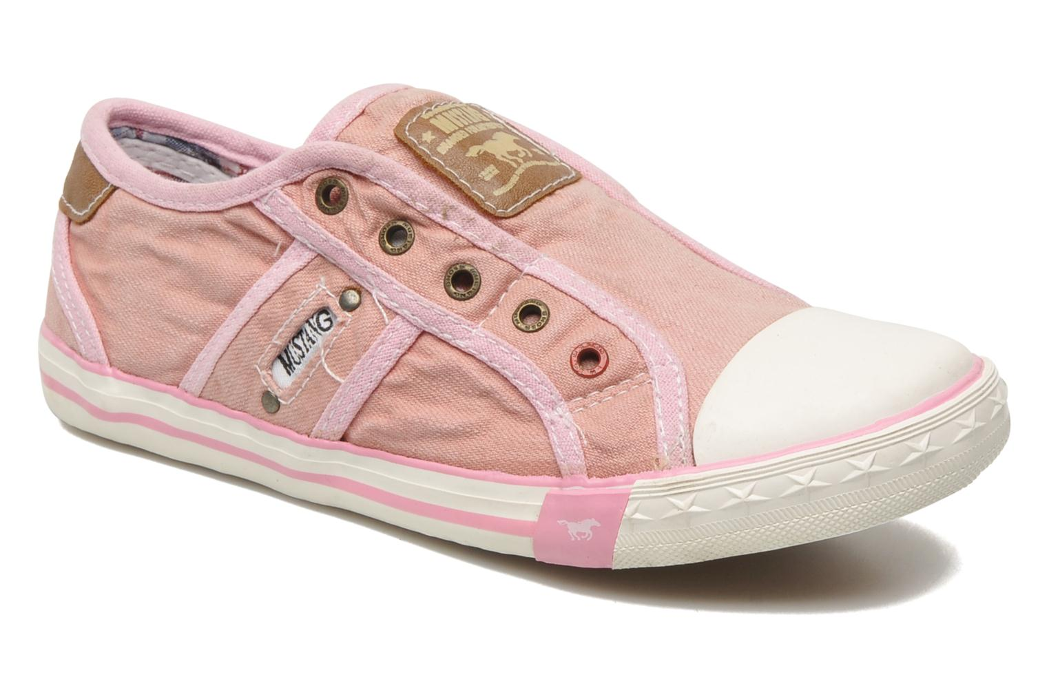 Sneakers Mustang shoes Sorala Roze detail