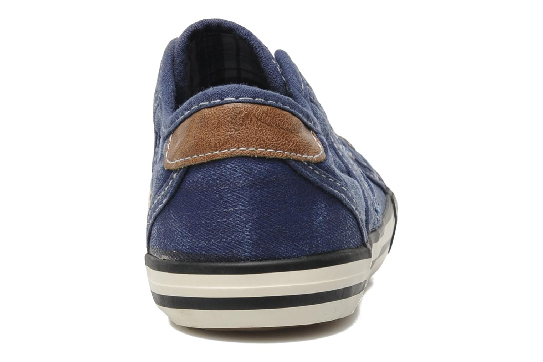 Baskets Mustang shoes Sorala Bleu vue droite