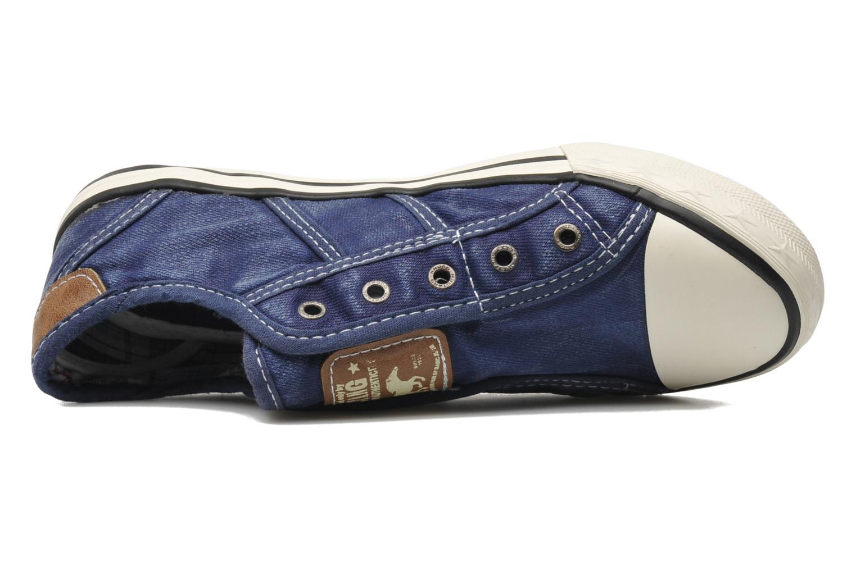 Baskets Mustang shoes Sorala Bleu vue gauche