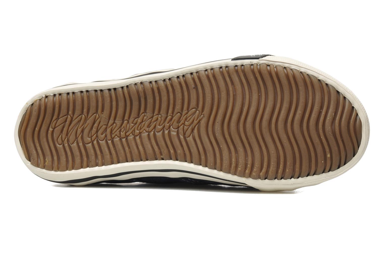 Baskets Mustang shoes Sorala Bleu vue haut