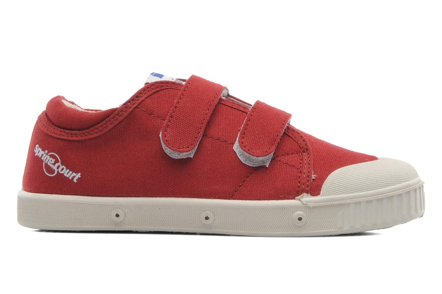 Sneakers Spring Court GE1 CVS VELCRO Rosso immagine posteriore