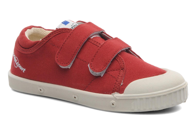 Sneakers Spring Court GE1 CVS VELCRO Rød detaljeret billede af skoene