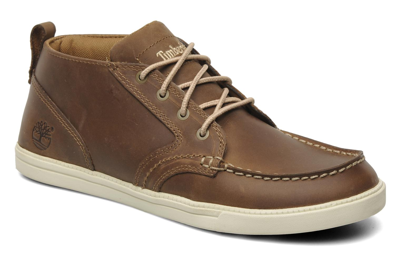 Sneaker Timberland Earthkeepers Fulk LP Chukka Moc Toe Lea braun detaillierte ansicht/modell