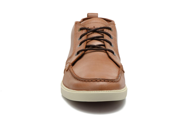 Sneakers Timberland Earthkeepers Fulk LP Chukka Moc Toe Lea Bruin model