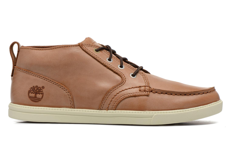 Sneakers Timberland Earthkeepers Fulk LP Chukka Moc Toe Lea Bruin achterkant