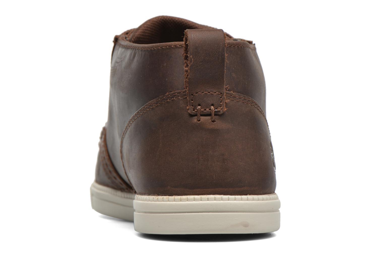 Sneakers Timberland Earthkeepers Fulk LP Chukka Moc Toe Lea Bruin rechts
