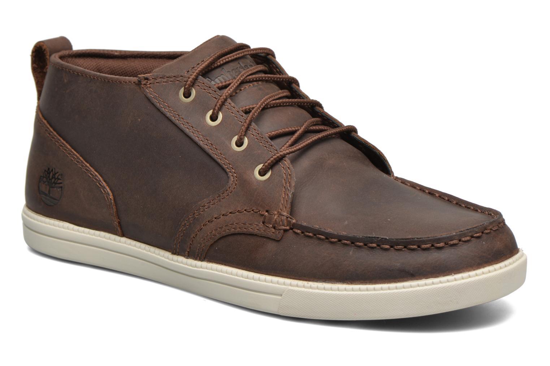 Sneakers Timberland Earthkeepers Fulk LP Chukka Moc Toe Lea Bruin detail