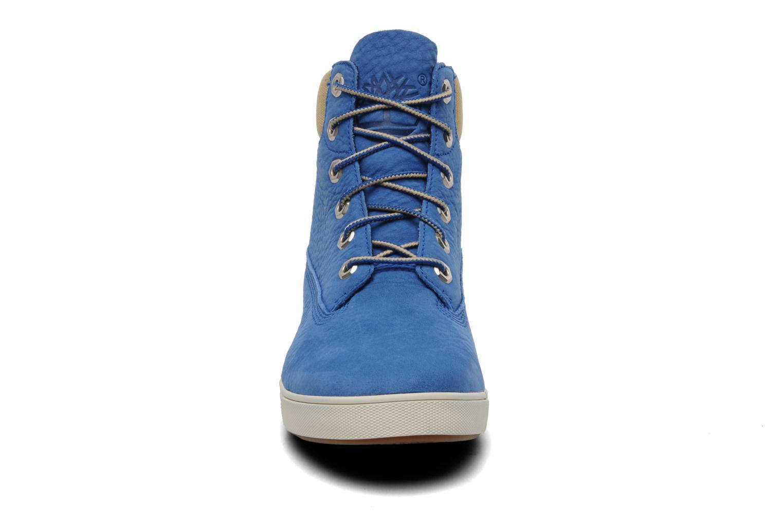 Baskets Timberland Earthkeepers Deering 6'' Boot Bleu vue portées chaussures