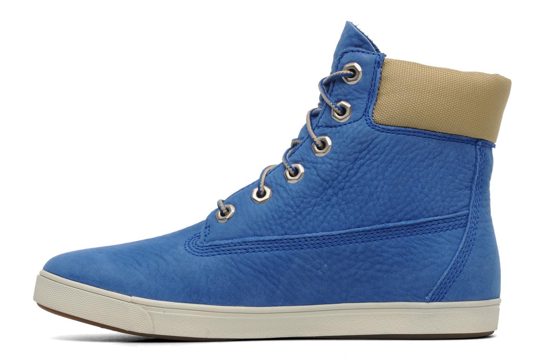Sneaker Timberland Earthkeepers Deering 6'' Boot blau ansicht von vorne