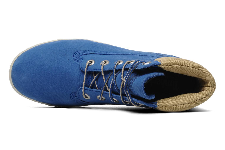 Sneaker Timberland Earthkeepers Deering 6'' Boot blau ansicht von links