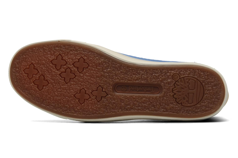 Sneaker Timberland Earthkeepers Deering 6'' Boot blau ansicht von oben