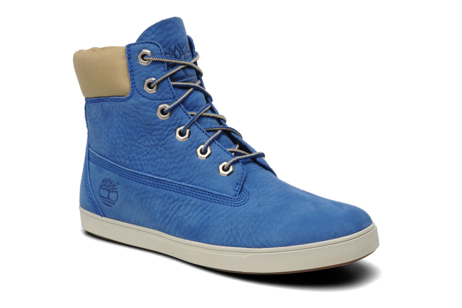 Trainers Timberland Earthkeepers Deering 6'' Boot Blue detailed view/ Pair view