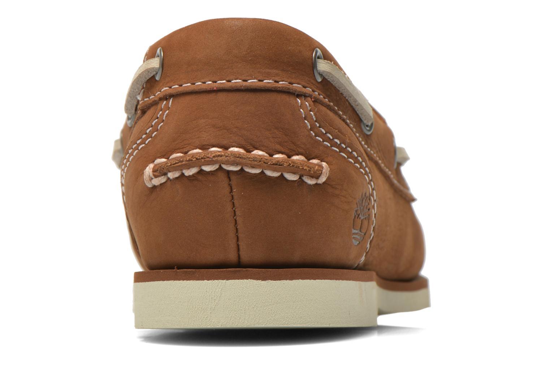 Chaussures à lacets Timberland Classic Boat Unlined Boat Shoe Marron vue droite
