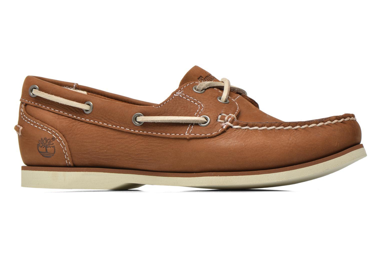 Chaussures à lacets Timberland Classic Boat Unlined Boat Shoe Marron vue derrière