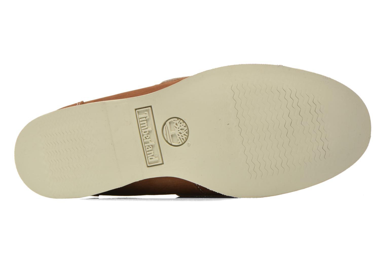 Chaussures à lacets Timberland Classic Boat Unlined Boat Shoe Marron vue haut