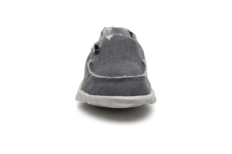 Slipper DUDE Farty Classic grau schuhe getragen
