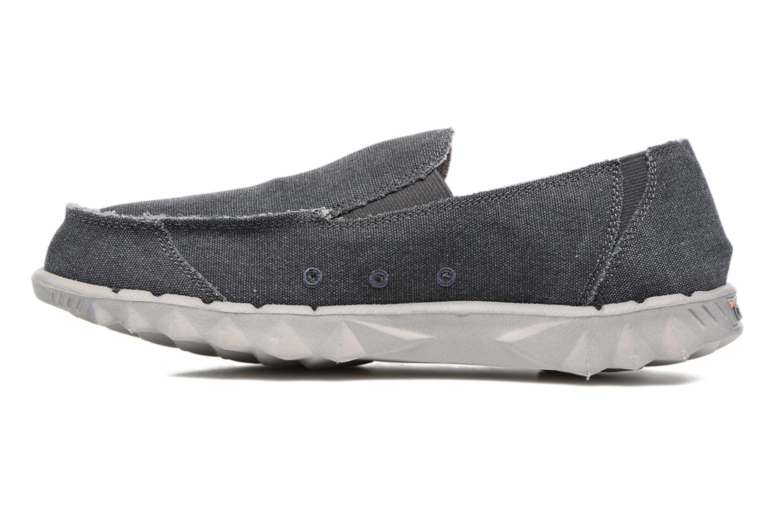 Mocassins DUDE Farty Classic Gris vue face