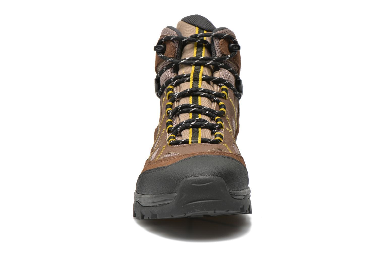 Chaussures de sport Salomon Authentic LTR GTX Marron vue portées chaussures