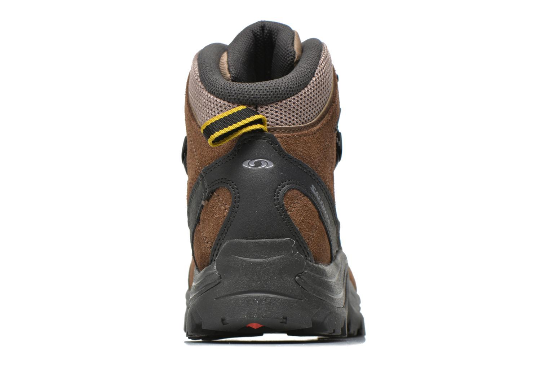 Chaussures de sport Salomon Authentic LTR GTX Marron vue droite
