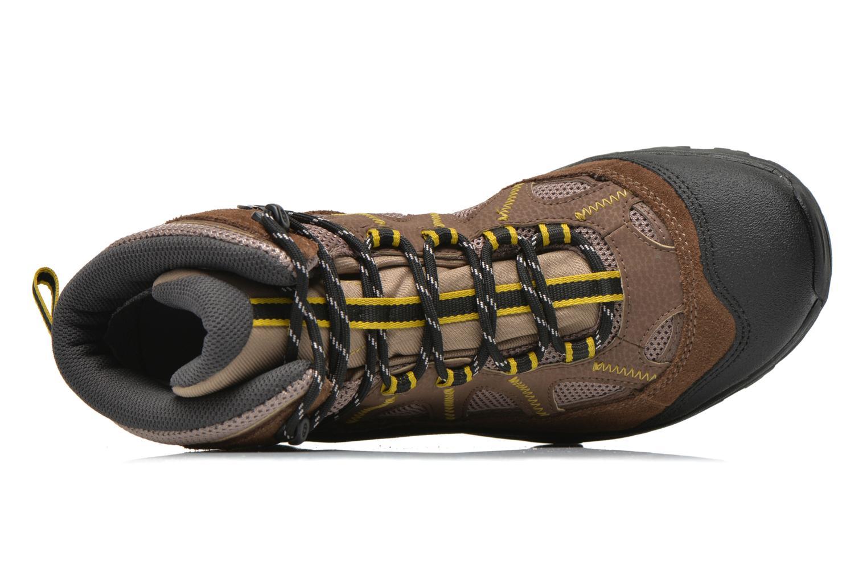 Chaussures de sport Salomon Authentic LTR GTX Marron vue gauche