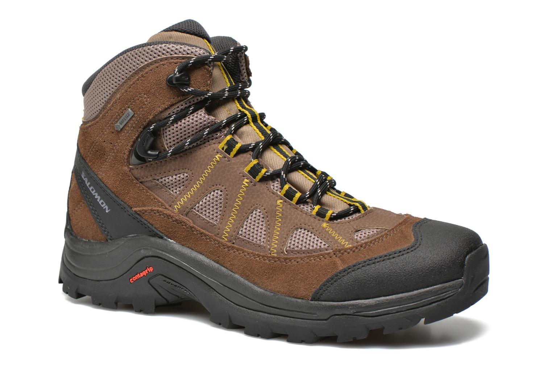 Chaussures de sport Salomon Authentic LTR GTX Marron vue détail/paire