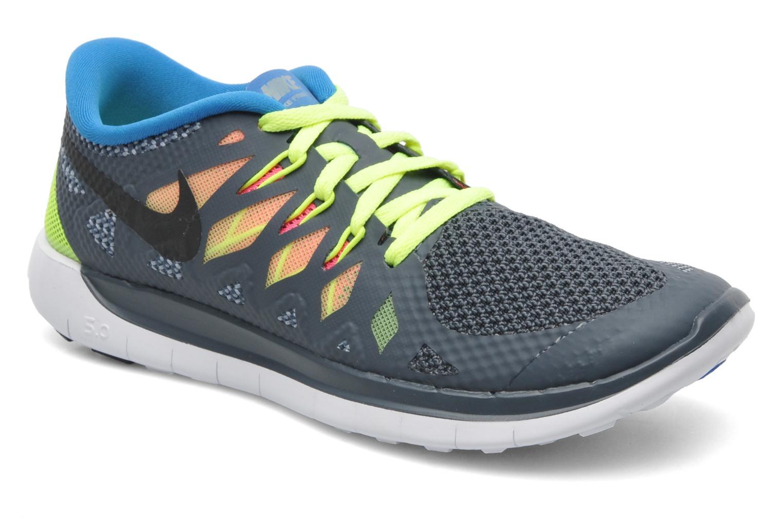 Sneakers Nike NIKE FREE 5.0 (GS) Grijs detail