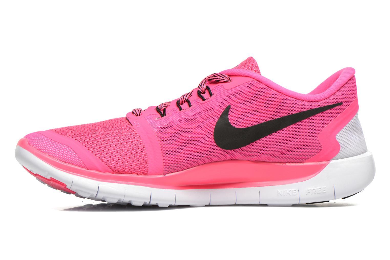 Sneaker Nike NIKE FREE 5.0 (GS) rosa ansicht von vorne