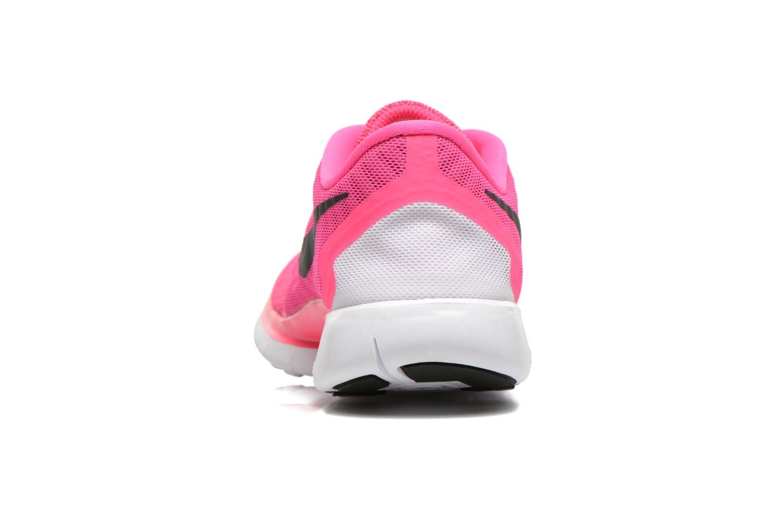 Sneaker Nike NIKE FREE 5.0 (GS) rosa ansicht von rechts