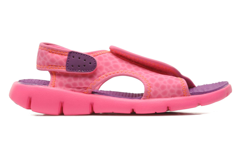 Sandali e scarpe aperte Nike SUNRAY ADJUST 4 (GSPS) Rosa immagine posteriore