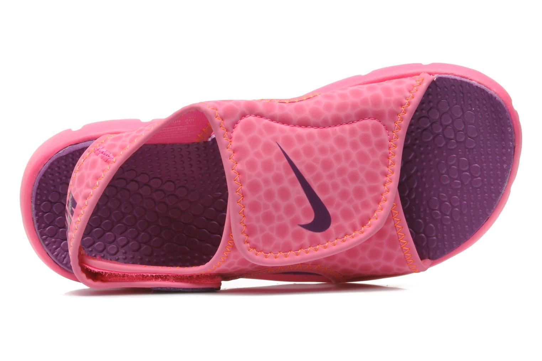 Sandalias Nike SUNRAY ADJUST 4 (GSPS) Rosa vista lateral izquierda