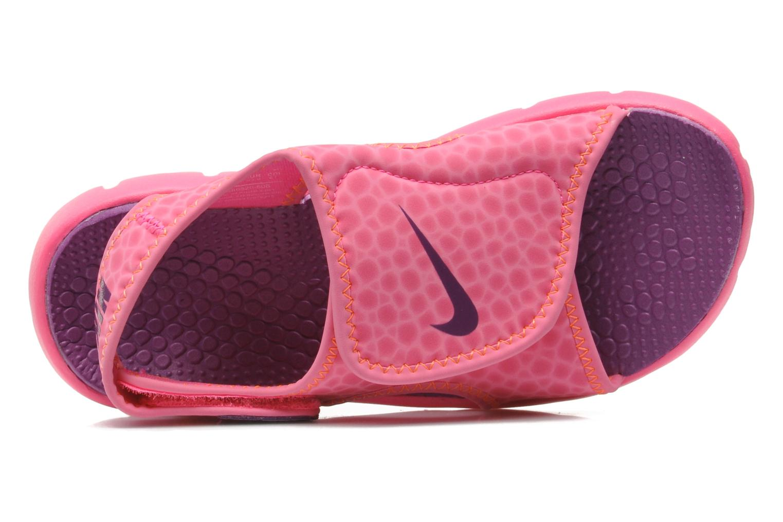 Sandaler Nike SUNRAY ADJUST 4 (GSPS) Rosa bild från vänster sidan