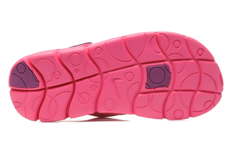Sandalen Nike SUNRAY ADJUST 4 (GSPS) rosa ansicht von oben